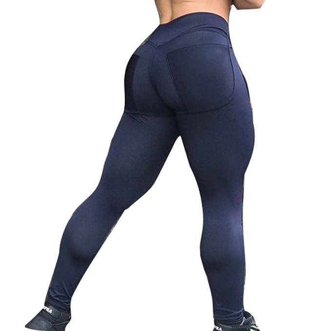 c5d57658fcdf7 Juleya Women Leggings High Waist Sweatpants Yoga Pants Ladies Leggins Tights  Push up Fitness Gymnastic Trousers Solid Color V Waist Sports Pants: ...