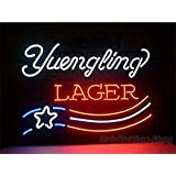 "HOT Eagle 17""x 14"" Yuengling Lager Real Glass Beer Bar Neon Light Signs for Home Shop Store Beer Bar Pub Restaurant Billiards Shops Display Signboards"