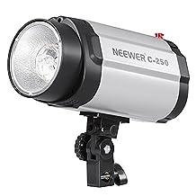 Neewer 250W Strobe/Flash Light for Studio, Location & Portrait Photography