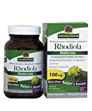 Nature's Answer Rhodiola Root Vegetarian Capsules, 60-Count