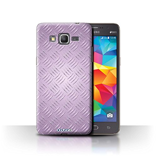 Coque de Stuff4 / Coque pour Samsung Galaxy Grand Prime / Rose Design / Motif en Métal en Relief Collection