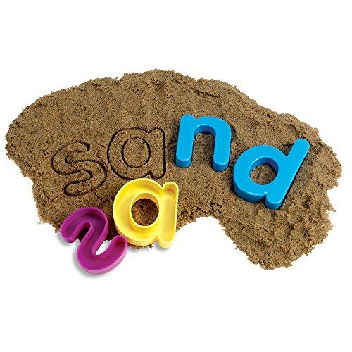owercase Alphabet Sand Molds, Set of 26 (Alphabet Sand Molds)