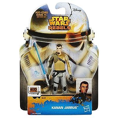 Star Wars Rebels Saga Legends Kanan Jarrus Figure: Toys & Games