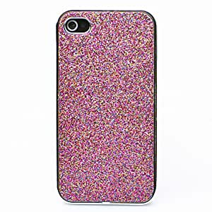Joyland Fluorescence Color Back Case for iPhone 4/4S(Assorted Color) , Rose