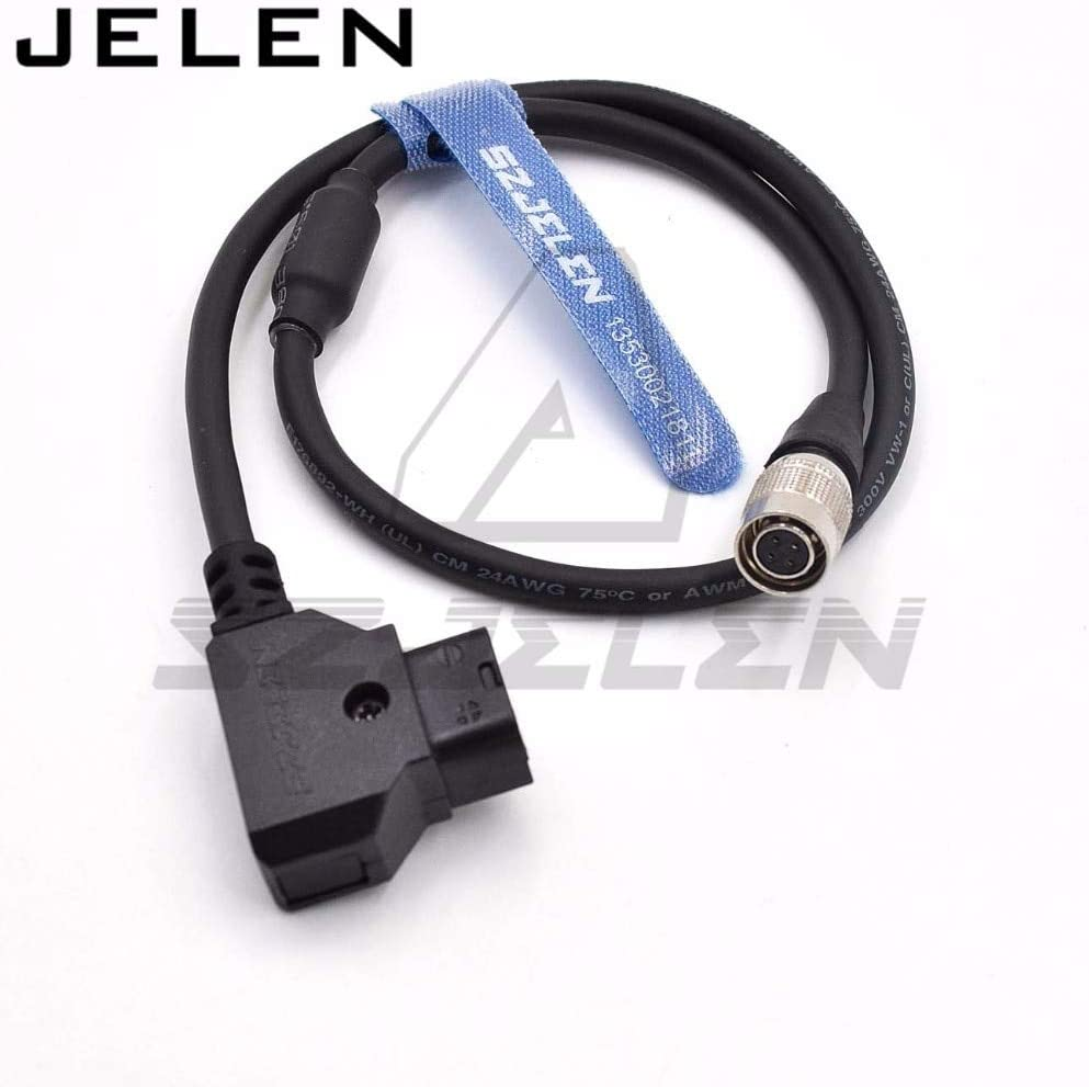 SmallHD AC7-OLED monitor power cable Color: 100CM Gimax DTAP to Hirose 4-pin female connector for SmallHD DP7-PRO and AC7-OLED monitor power cord