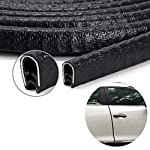 Car Door Edge Guard, U Shape Rubber Edging Protector Strip for Metal, Glass, Boat and Grip Range, Fit 2.5 mm thickness…