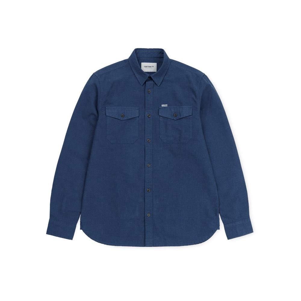 Bleu Nuit L voiturehartt Chemise L s Vendor Shirt bleu Heather