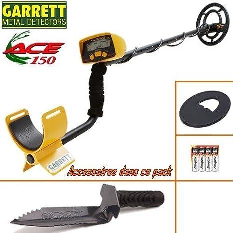 Garrett Ace-Detector De metales 150 incluye un protector Disco-Cuchillo De registro: Amazon.es: Bricolaje y herramientas