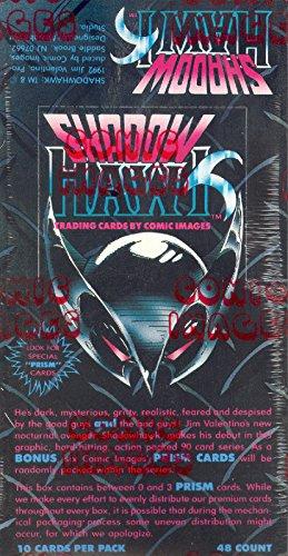 SHADOWHAWK 1992 COMIC IMAGES TRADING CARD BOX (Comic Images Trading Card Box)