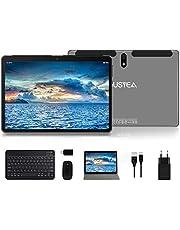 Tablet 10 inch Android 10.0 ultracompact – RAM 4 GB | 64 GB uitbreidbaar (Google GMS) – JUSYEA – accu 8000 mAh – WLAN – hoogwaardige behuizing (grijs)