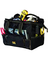 Custom LeatherCraft 1533 12 Tote Bag with Top Plastic Tray