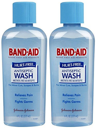 Band-Aid First Aid Hurt-Free Antiseptic Wash, 2 Count