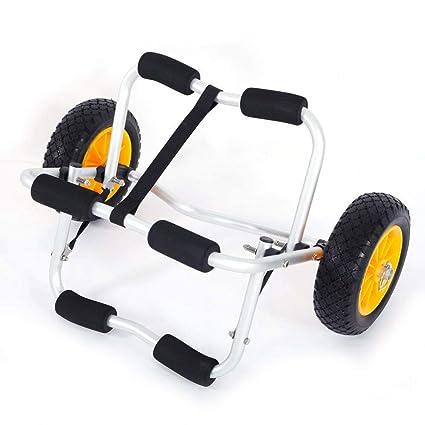Amazon.com: W4-moto - Carro de transporte para kayak, canoa ...