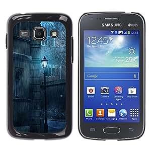 Be Good Phone Accessory // Dura Cáscara cubierta Protectora Caso Carcasa Funda de Protección para Samsung Galaxy Ace 3 GT-S7270 GT-S7275 GT-S7272 // Lamp Rain Sad Vintage Retro Old