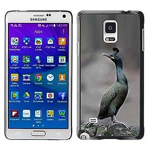 TopCaseStore / la caja del caucho duro de la cubierta de protección de la piel - Desert Winter Nature - Samsung Galaxy Note 4 SM-N910F SM-N910K SM-N910C SM-N910W8 SM-N910U SM-N910