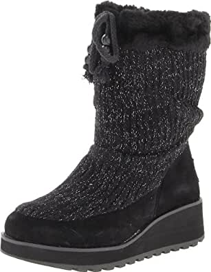 Amazon.com | Skechers Women's Visioneers-Mid Snow Boot