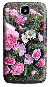 new Samsung S4 case Flowers Bouquet Designs 3D cover custom Samsung S4
