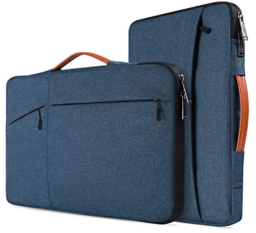 14-15 inch Waterproof Laptop Briefcase Bag for Dell XPS 15 7590 9575 9570, HP Pavilion x360 14, Lenovo Flex 14, Dell Inspiron 14, 14 inch Acer ASUS HP DELL Lenovo Chromebook 14 Notebook Bag Case