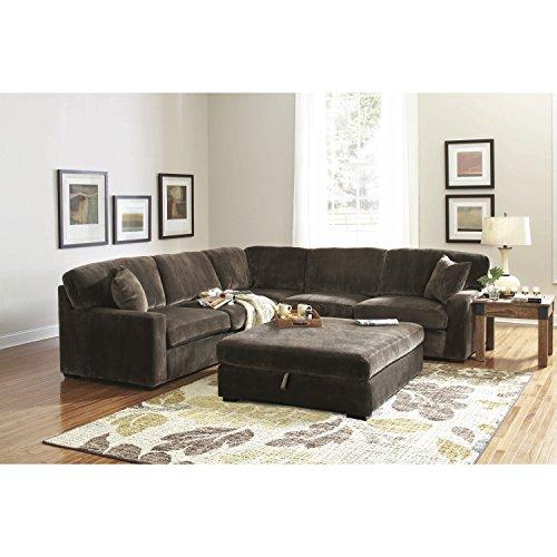 Coaster Home Furnishings 500703 Casual Sectional Sofa, Coffee