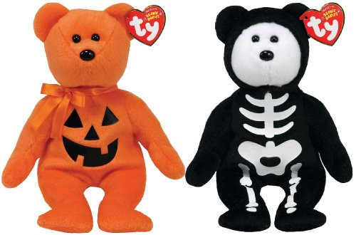 Ty Beanie Baby Skeleton Bear
