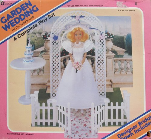 GARDEN WEDDING Complete PLAY SET For BARBIE & Other 11-1/2