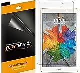 lg g pad x 8 0 (3 Pack) Supershieldz for LG G Pad X8.0 (G Pad X 8.0) and LG G Pad III 8.0 Screen Protector, High Definition Clear Shield (PET)