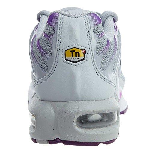 Nike Air Max Plus Tn (gs) Jeugd Sneaker Puur Platina / Zwart-wolf Grijs