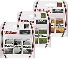 Wilson Juego de sobreempuñaduras Camo, 3 recambios, Diseño ...