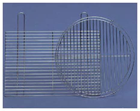 Landmann - Parrilla cromada para barbacoa (60 x 40 cm)