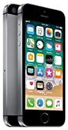 Apple iPhone SE, GSM Unlocked, 64GB - Space Gray (Renewed)