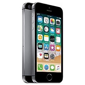 Apple iPhone SE, GSM Unlocked, 64GB – Space Gray (Renewed)