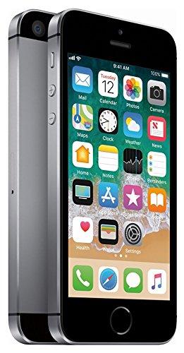 Apple iPhone SE, GSM Unlocked, 16GB - Space Gray (Renewed)