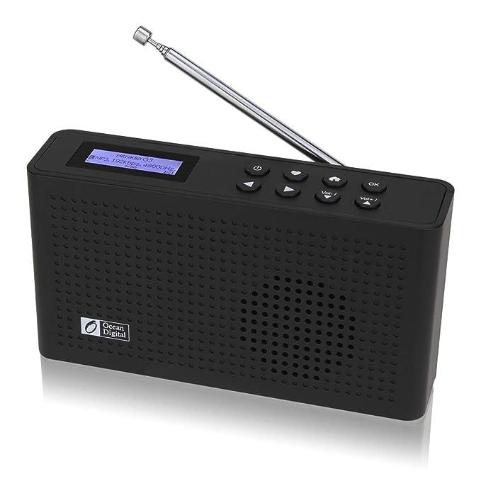 9 opinioni per Ocean Digital Portable Internet Wi-Fi/DAB/DAB + / Radio FM con Altoparlante