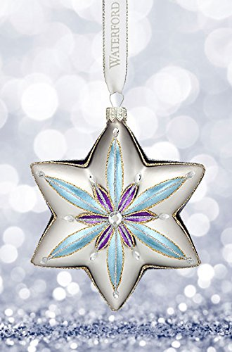 Decorative Holiday Star Ornament (Waterford Holiday Heirlooms Sensations Star Ornament)
