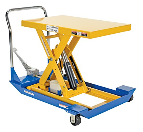 Vestil-CART-23-15-M-Manual-Scissor-Cart-1500-lb-Capacity-36-x-24-Platform