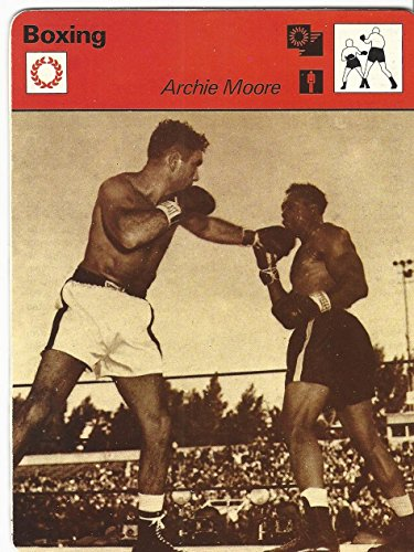 - 1977-79 Sportscaster Card, 21.07 Boxing, Archie Moore, Maxim