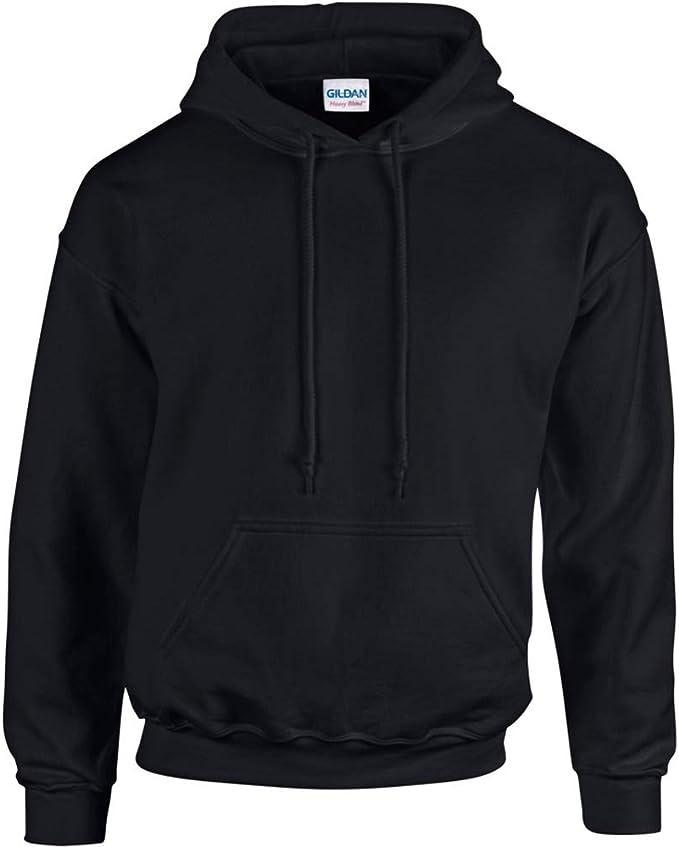 Gildan Heavy Blend Fleece Hooded Sweatshirt mit Kapuze für