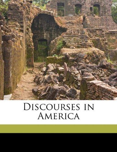 Download Discourses in America pdf epub