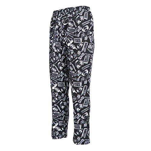 B Coton De Pantalon Travail En Table Mélange Couverts Cuisine Blesiya Typej 6q0rna1x6