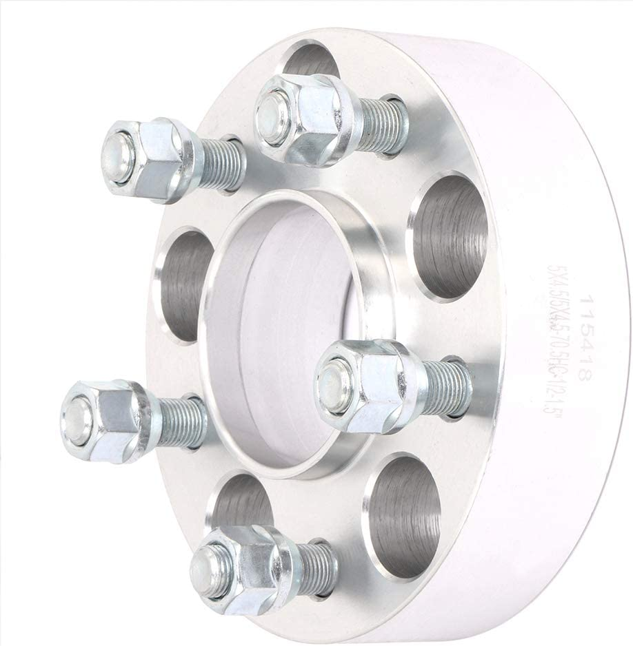 SCITOO 4X 1.5 inch 5x4.5 Hubcentric Wheel Spacers 5x114.3 to 5x114.3 5 Lug 1//2 x20 Studs 70.5mm Compatible with for F-ord Mach I Maz-da B4000 B3000 Town Car