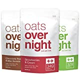 Oats Overnight – Premium High-Protein, Low-Sugar, Gluten-Free (3oz per pack) (12 Pack Variety) For Sale