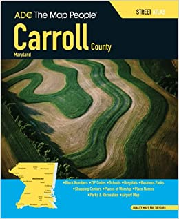Adc the map people carroll county maryland street atlas the map adc the map people carroll county maryland street atlas the map people adc 9780875308890 amazon books gumiabroncs Choice Image