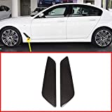 AUTO Pro for BMW New 5 Series G30 2017 2018 ABS Plastic Car Fender Vent Decorative Cover Trim Sticker Accessories Carbon Fiber Style