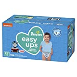 Pampers Easy Ups Training Underwear Boys Size 6 4T-5T 104 Count: more info