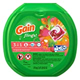 Gain Flings Tropical Sunrise Laundry Detergent, 72 Count