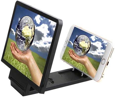 FZYQY Lupa de Pantalla para Smartphone 3D, Pantalla Ampliada para ...