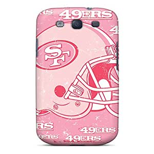 Samsung Galaxy S3 ESs1193sgkK Allow Personal Design Vivid San Francisco 49ers Pictures Protector Cell-phone Hard Cover -LauraAdamicska