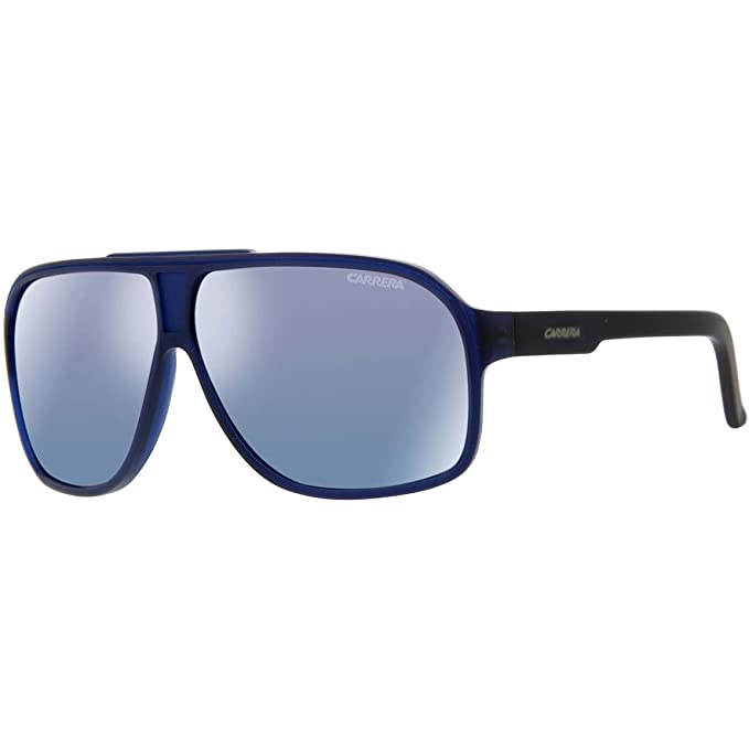 627f36e4c4bf5 Carrera - Grand Prix 2 - Gafas de sol mate azul oscuro Azul espejo lente l0  F XT  Amazon.es  Ropa y accesorios