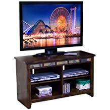 "Sunny Designs Sedona 62"" TV Stand in Rustic Oak"