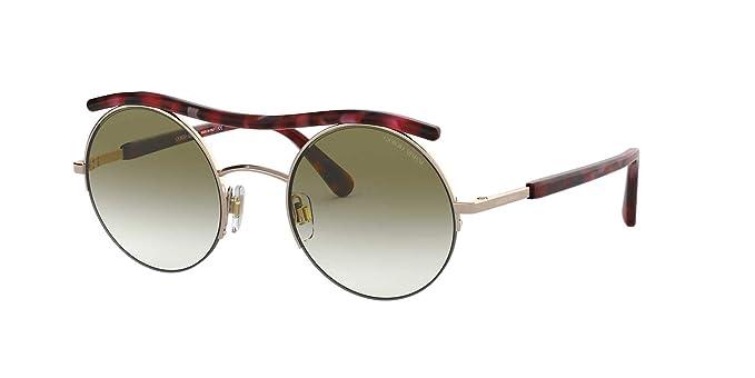 Armani GIORGIO 0AR6082 Gafas de sol, Rose Gold, 49 para ...